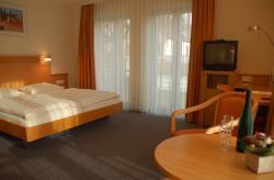Landhotel Altes Wasserwerk Zimmer klimatisiert, Sofa