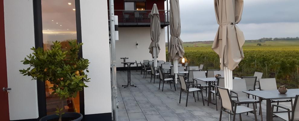 Kostbar Terrasse
